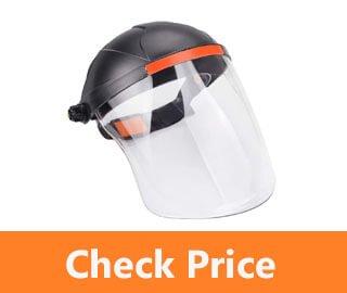 GINODE Anti fog Adjustable Full Face Shield