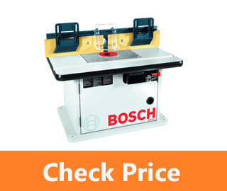 Bosch Cabinet Style Router Table review