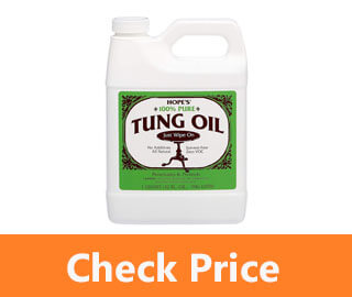 Pure Tung Oil review